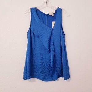 Michael Kors Sleeveless Silk Top